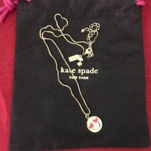 Kate Spade Lovestruck Emoji Gold Necklace